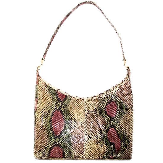 MOSKOWITZ Snakeskin Hobo Handbag Python VDB-043