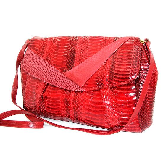 J. RENEE Vintage Snakeskin Clutch Bag      VEB-031