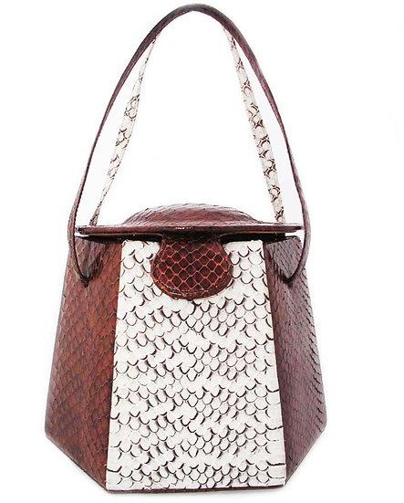 PAGODA Collector's Snakeskin Vanity Purse VEB-012