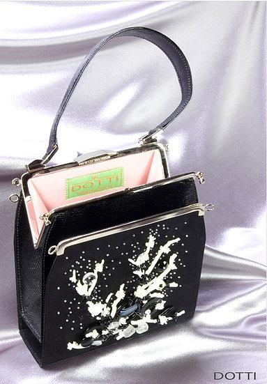 Collectible Designer Lizard Handbag Print FA-013