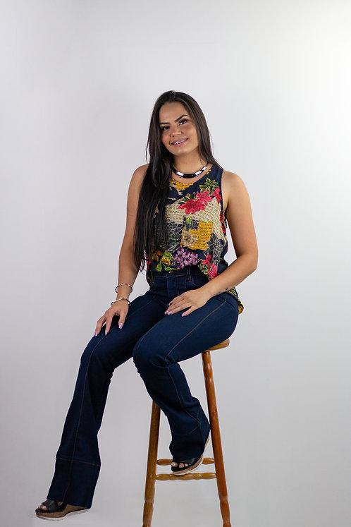 203 - Conjunto Calça Jeans e Regata