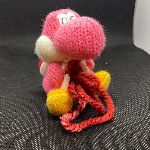 Pink Yarn Yoshi Zomiibo