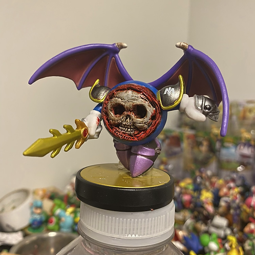Meta knight with magnetic removable mask