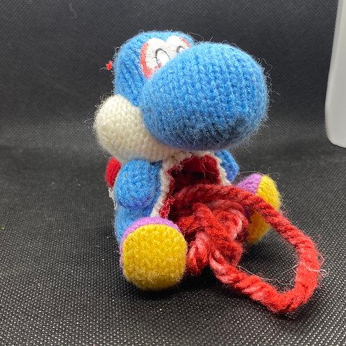 Blue Yarn Yoshi Zomiibo