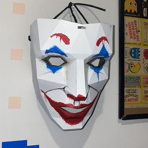 Joker (joaquin Phoenix style) glitch purge mask