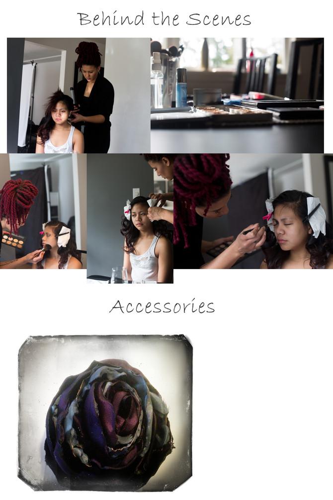 Jocelynn behind the scenes glamour shoot- Marta Houlding Portrait