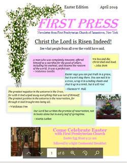 FPC Easter 2019 Newsletter