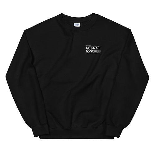 Unisex Child Of God Sweater Black