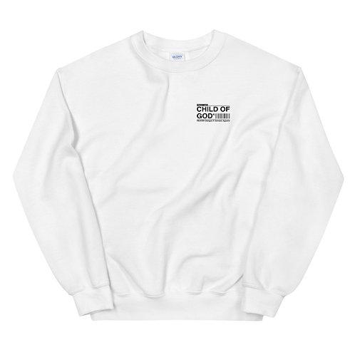 Unisex Child Of God Sweater White