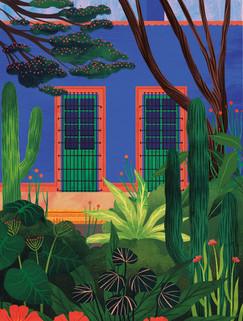 Amy Grimes - Casa Azul Print