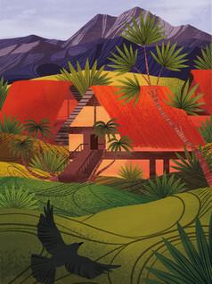 Amy Grimes - Papeete Print