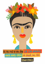 Cut-It-Out Frida Print