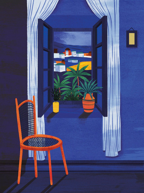 Amy Grimes - View From Room Print