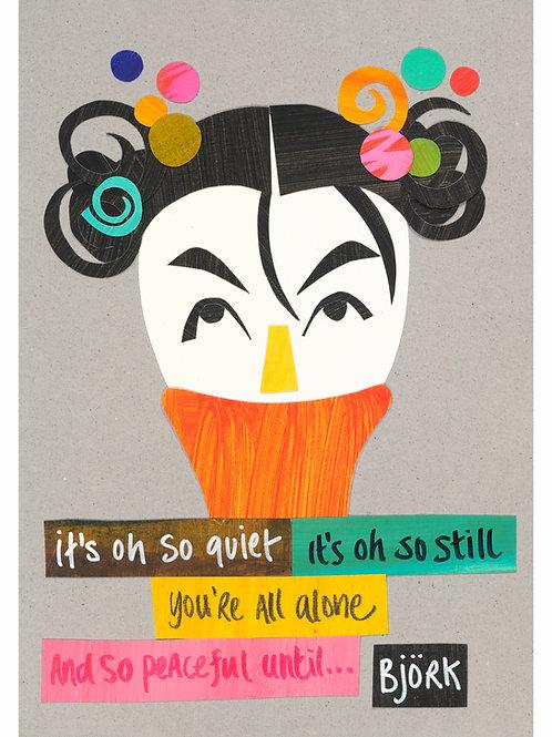 Cut-it-out Björk