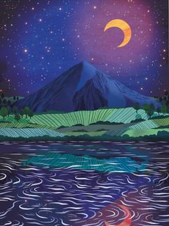 Amy Grimes - Mount Nielsen Print