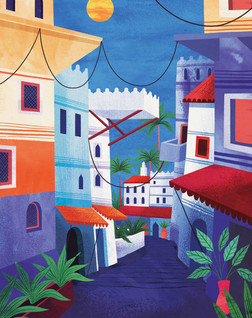 Amy Grimes - Medina Streets Print