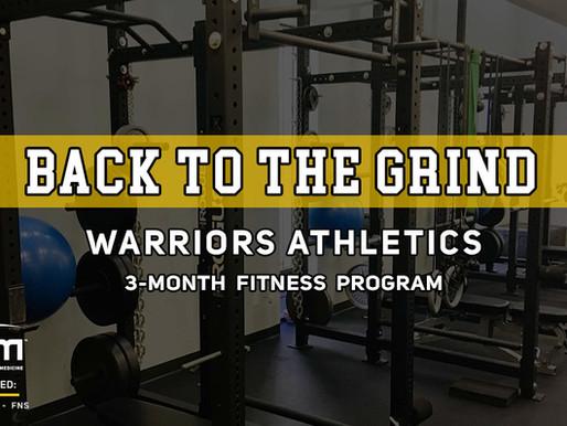 Get Back Into Shape - New Training Program Offered