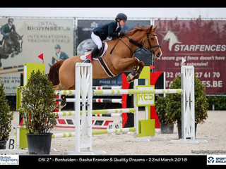 Sasha Erander jumping Quality Dreams