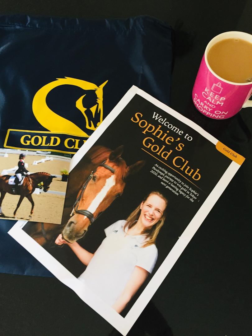 Sophie Christiansen Gold Club