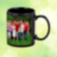 mug noir personnalisé roanne
