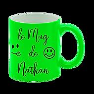 Mug Fluo Personnalisé Roanne