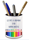 pot à crayon personnalisé roanne