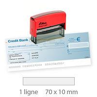 TAMPON ENCREUR TRODAT 4916 spécial chèque ROANNE