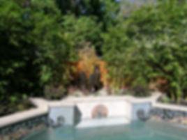 custom mosaic pool details, sacramento
