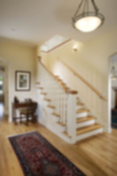 custom classic staircase, sacramento