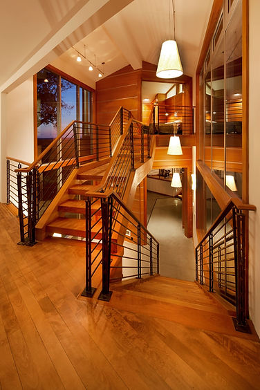 custom staircase to view, sacramento