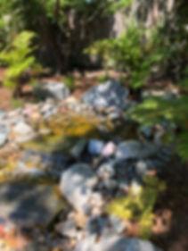 custom water fall landscape