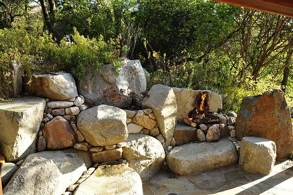 backyard stonework