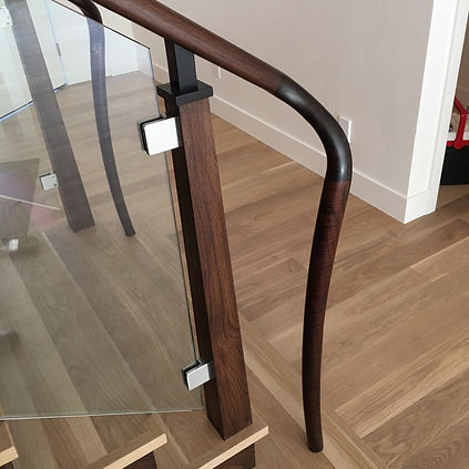 custom staircase detail