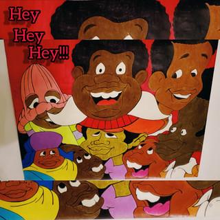 "Fat Albert inspired ""Hey, Hey, Hey"""