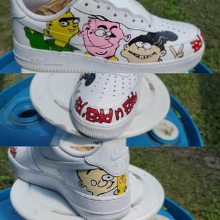 Shoe Customazation ed, edd, eddy
