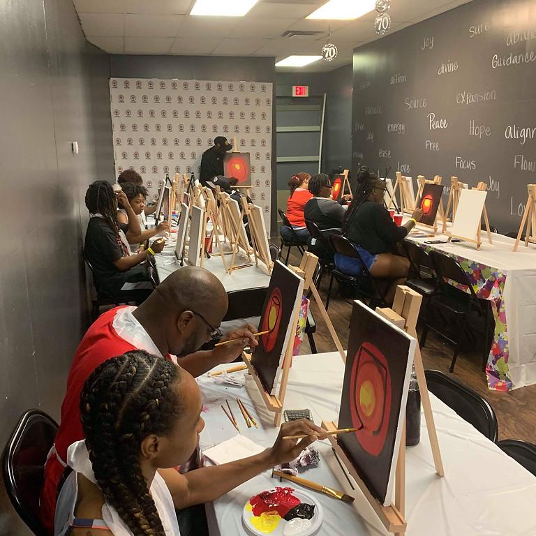 Sip & Dip Paint Event