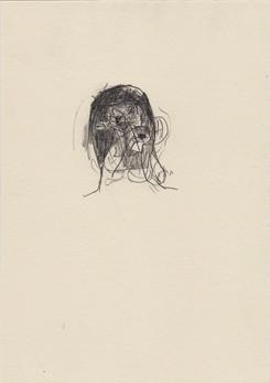 Crucifix man, 2016, pencil on paper, 20
