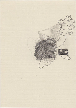 , 2016, pencil on paper, 20 x 14,5 cms