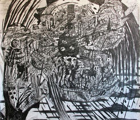 Luis Almeida drawing 2017