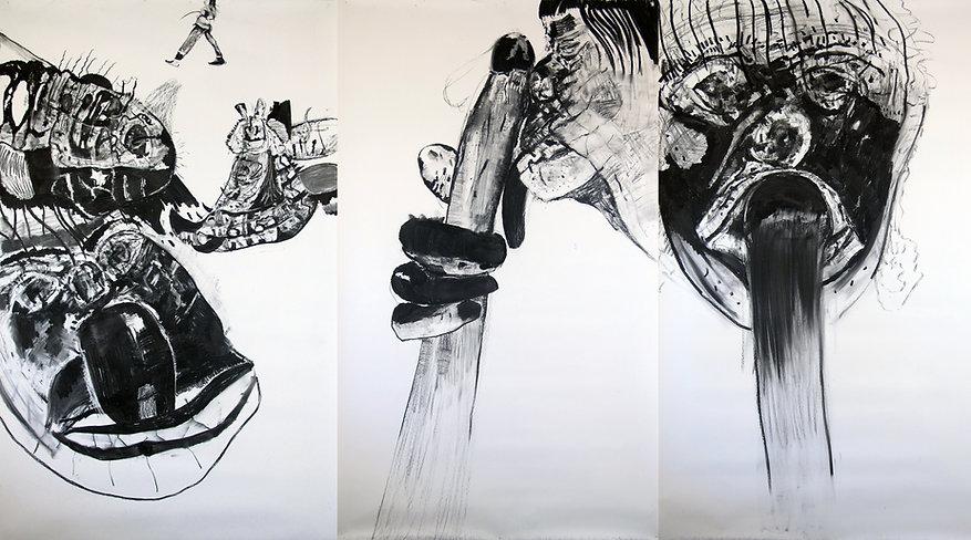 Luis Almeida, Il bocchino 2019 drawing