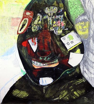 Luis Almeida drawing, art