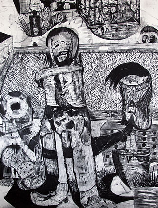 Luis Almeida art drawing