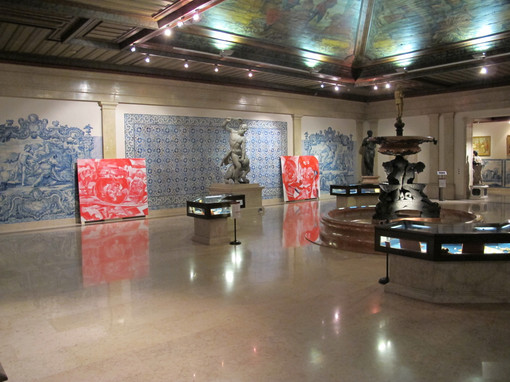 View of exhibition, Campanha