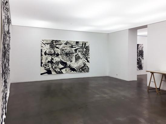 Exhibition view, Não, obrigada