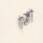 Niagara, 2016, pencil on paper, 20 x 14,