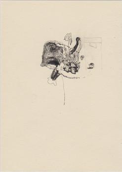 Judging machine, 2016, pencil on paper,