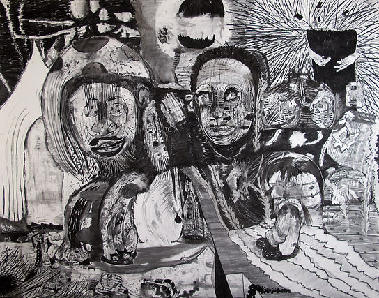 The treatment, Luis Almeida drawing