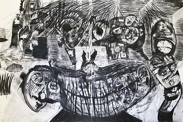 Luis Almeida face drawing 2019