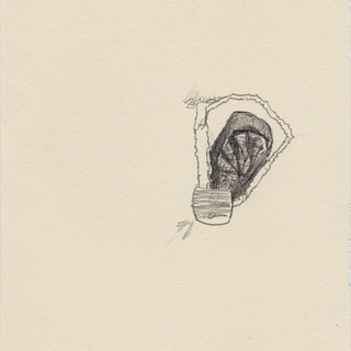 It lacks a tree, 2016, pencil on paper,