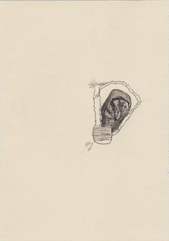 It lacks a tree, 2016, pencil on paper,